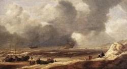 Shipwreck on a beach 1631 xx mauritshuis the hague