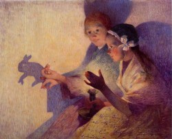 Puigaudeau Ferdinand du Chinese Shadows the Rabbit