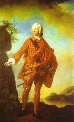 Norman the red man 22nd chief of macleod 1747 xx scotland uk