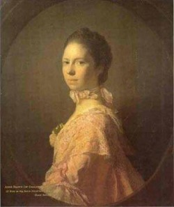 Portrait of anne brown 1763 xx private collection