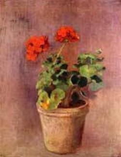 The Pot of Geraniums 1910