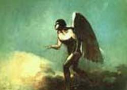 The Winged Man aka The Fallen Angel 1880