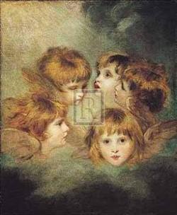 Childs portrait in different views