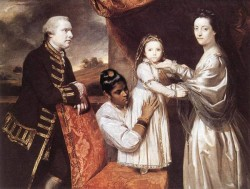 George Clive and his family EUR