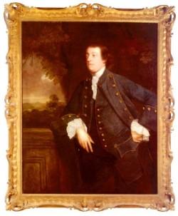 Reynolds Sir Joshua Portrait Of Sir William Lowther 3rd Bt