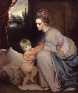 Reynolds Sir Joshua Portrait Of The Hon Mrs William Beresford