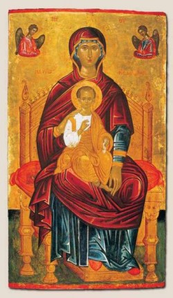 Mother Of God Enthroned
