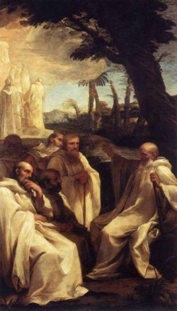 The Vision Of St Romuald