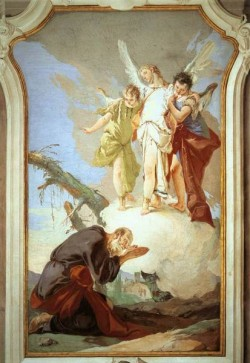 Tiepolo Palazzo Patriarcale The Three Angels Appearing to Abraham