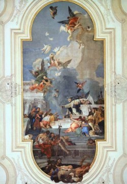 Tiepolo The Institution of the Rosary