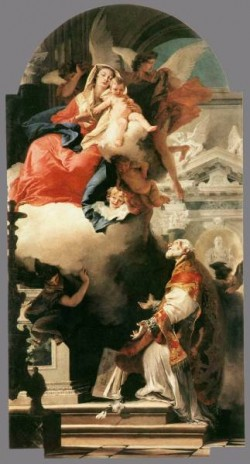 Tiepolo The Virgin Appearing to St Philip Neri