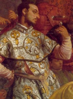 Veronese The Marriage at Cana detail3
