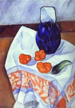 Jug and tomatoes 1912 xx the russian museum st petersburg russia