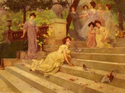 Girls On A Terrace