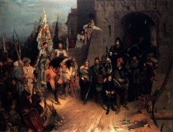 The Surrender Of The City Of Rosenberg In The Hussite War