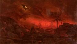 Ralph Albert Blakelock Forest Fire