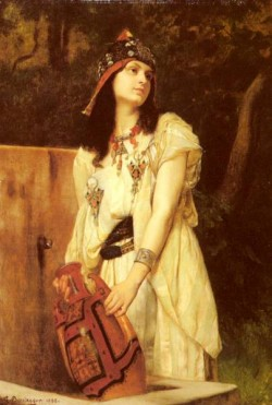 Clarence Rodolphe A Woman With An Urn