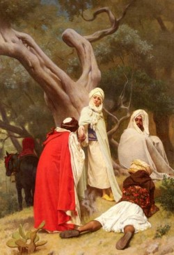 Clarence Rodolphe Reception Of An Emir