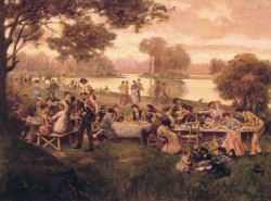 Luncheon on the grass