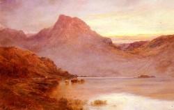 Breanski Alfred de The Evening Glow Near Arrochar