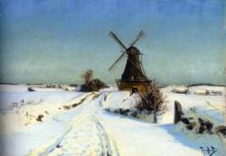 Hans Andersen Brendekilde Vindmoue A Windmill