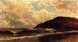 New big seascape coast of maine date unknown