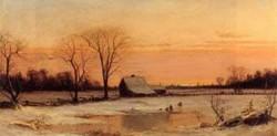 New big winter landscape 1866