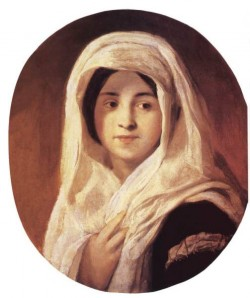 Portrait Of A Woman With Veil