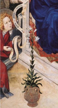 The Annunciation detail 2