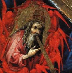 The Annunciation detail 3
