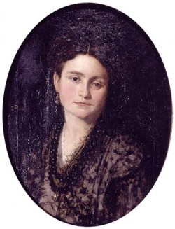 Retrato de Dona Teresa Martinez esposa del pintor