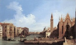 Grand Canal From Santa Maria Della Carita To The Bacino Di San Marco