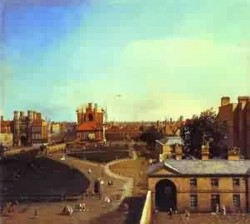 London whitehall and the privy garden from richmond house 17