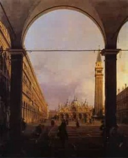 Piazza san marco looking east from the north westorner 1760