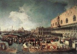 Reception Of The Ambassador In The Doges Palace