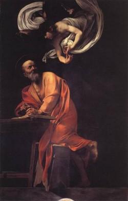 The Inspiration of Saint Matthew WGA