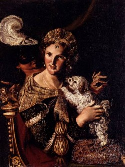 A Lady With Her Dog An Allegory