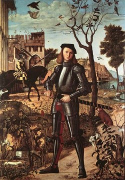 Carpaccio Portrait of a Knight