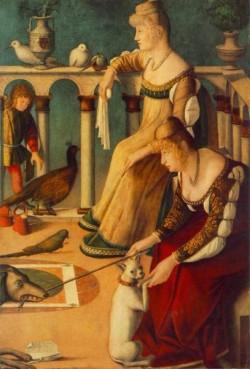 Carpaccio Two Venetian Ladies