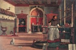 Vision of St Augustin WGA