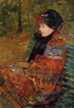 Autumn aka Profile of Lydia Cassatt
