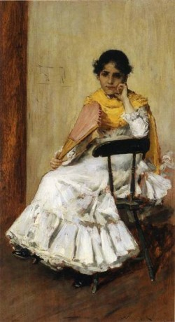 A Spanish Girl aka Portrait of Mrs Chase in Spanish Dress