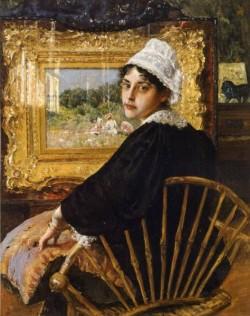 A Study aka The Artist s Wife