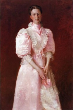 Study in Pink aka Portrait of Mrs Robert P McDougal