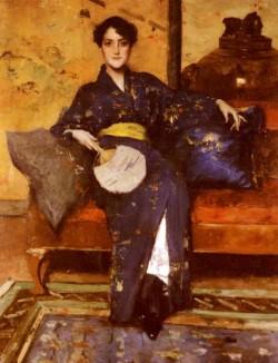 The Blue Kimono