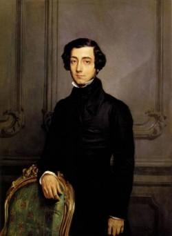Portrait of Alexis de Toqueville 1850