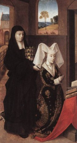 Isabel Of Portugal With St Elizabeth