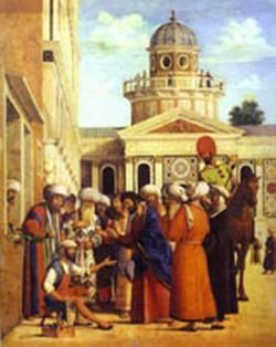 Ananias healing saul st paul 1497 99 xx gemeldegalerie ber