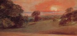 Evening Landscape at East Bergholt