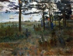 Fishermen s Cemetery at Nidden